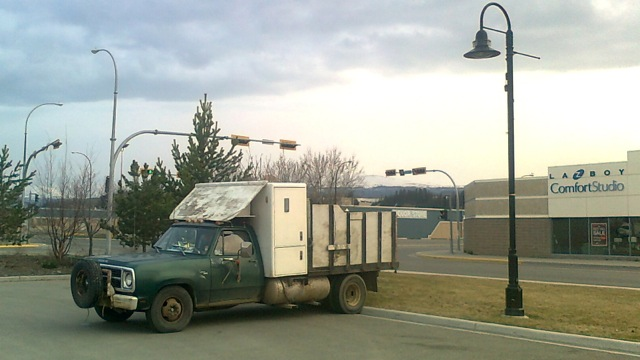 Living on the margins of Yukon society: For some their vehicle is their only comfort studio.