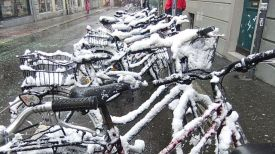 No matter what mode of transportation one chooses: Each one of them will create its own challenges, particularly in winter time.