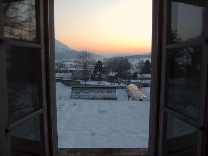A welcoming view - Eine einladende Aussicht.